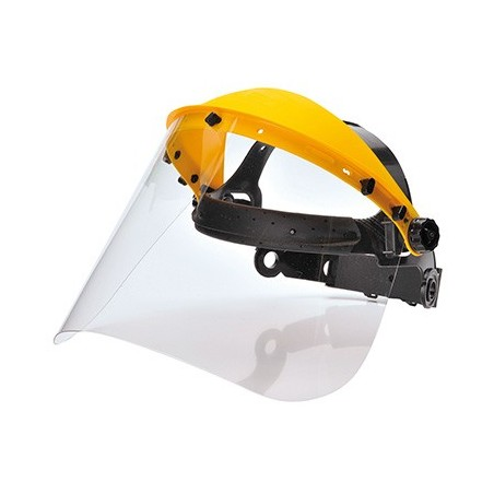 Head Protector with Colourless Visor PW91