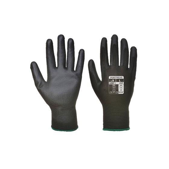 PU Palm Glove (Pack of 12) A129 BLACK