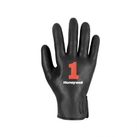 Chef Glove Fully Covered in Black Nitrile Foam