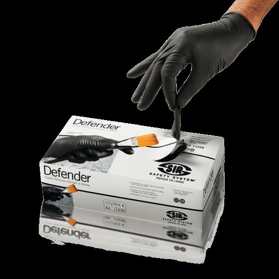 DEFENDER Protective Gloves (Pack of 100)