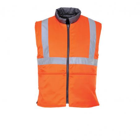 Reversible High Visibility Padded Vest RIS RT44