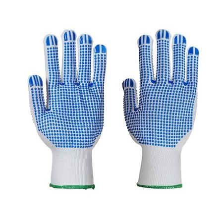 Polka Dot Plus Glove A113 White/Blue