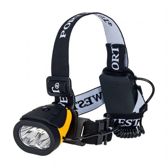 Dual head flashlight PA63