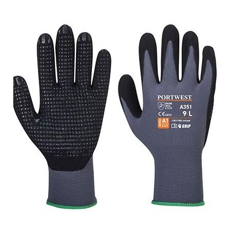 Glove DermiFlex Plus A351 Grey / Black