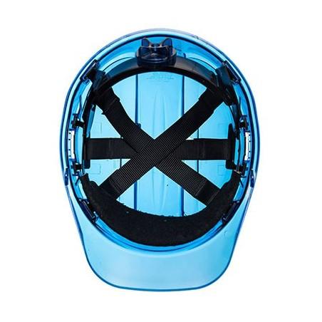 Peak View Translucent Helmet with Roller PV64