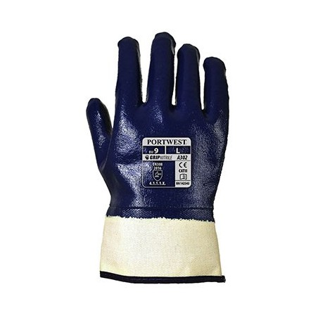 Nitrile Total Immersion Safety Glove A302 (3 pairs pack)