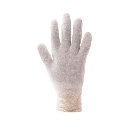 Stockinette Glove Hand Knitted A050 Beige (600 pack)