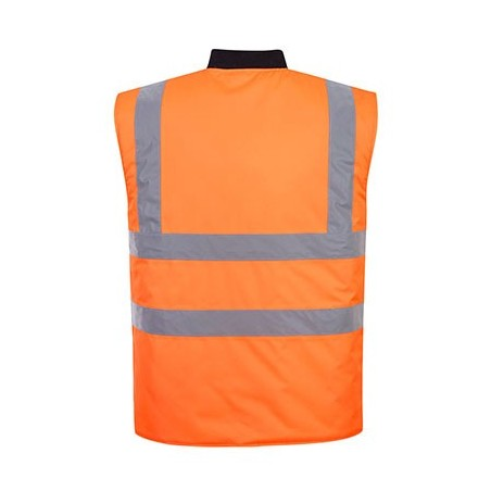 Reversible High Visibility Padded Vest S469