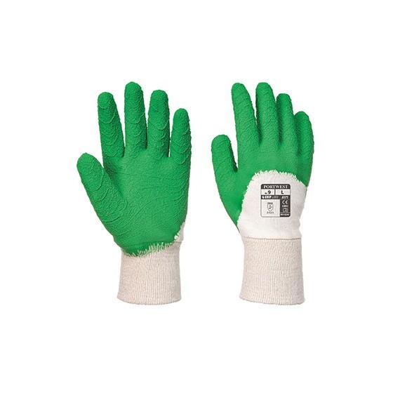 Open Hand Latex Glove A171 White / Green