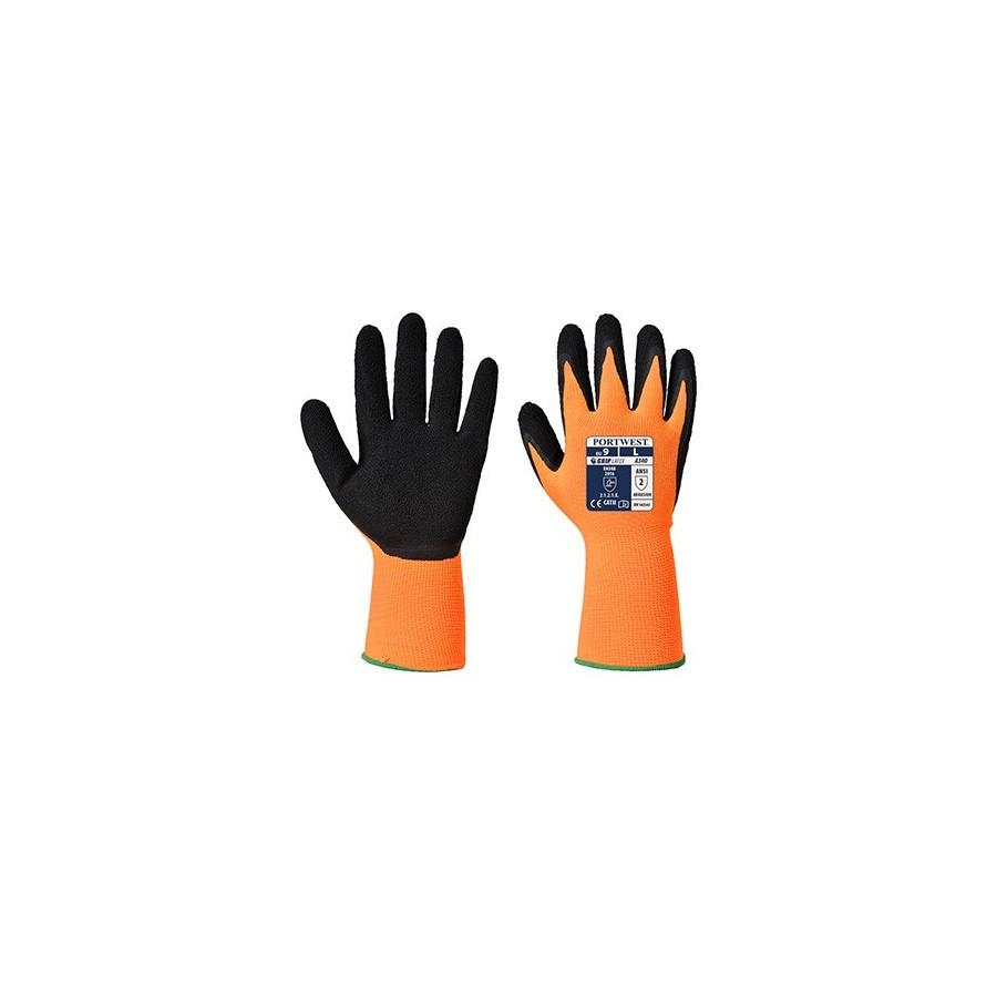 HiVis Grip Glove - Latex A340 Orange/Black