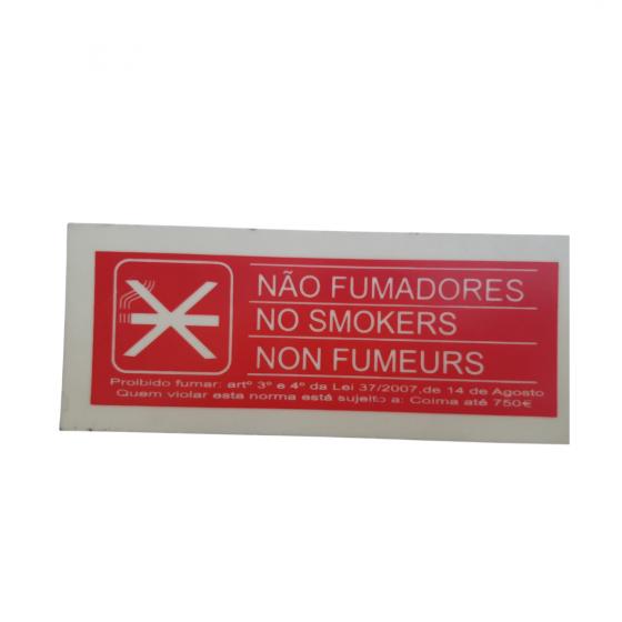 """No Smoking"" PVC Signage"