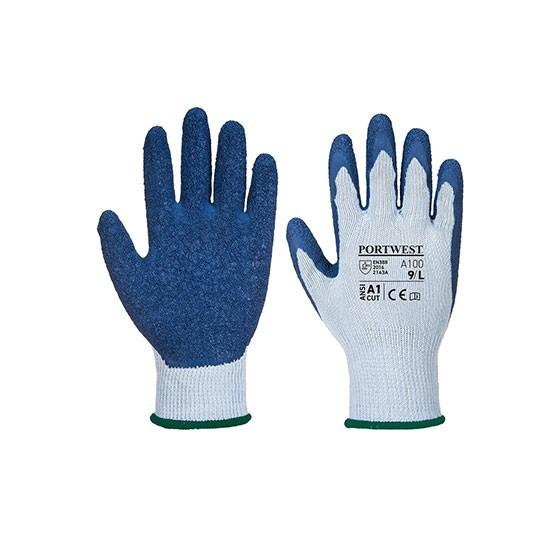 Luva Grip A100 Cinzento/Azul