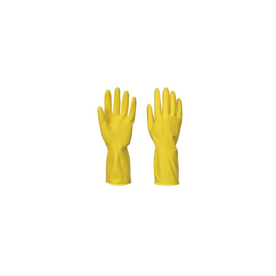 Household Latex Glove A800 (240 pcs Pack) Yellow