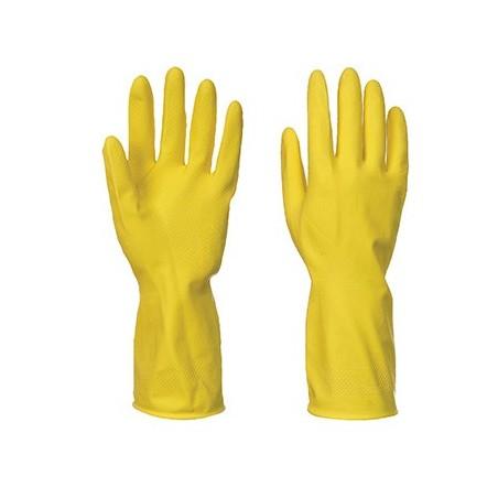 Luva doméstica de látex A800 Amarelo