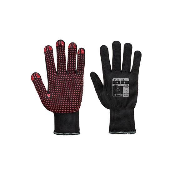 Polka Dot Nylon Glove A110