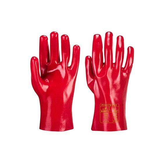Luva PVC A427 Vermelho