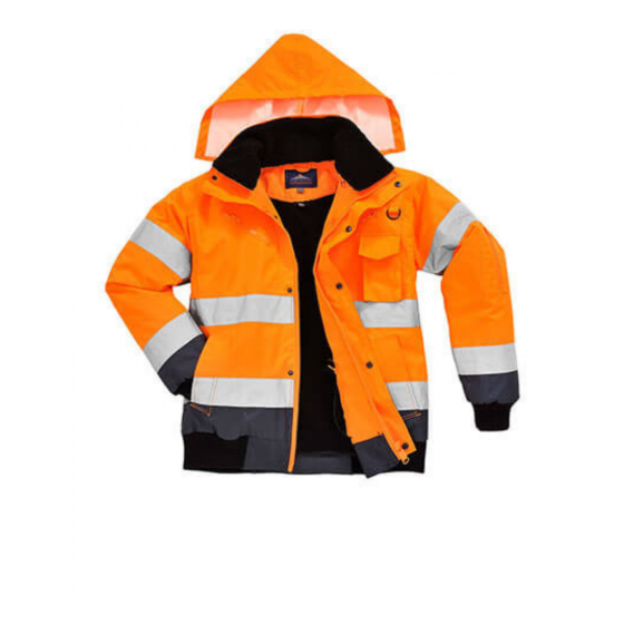 Contrast High Visibility Jacket C465