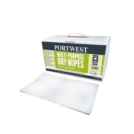 Multi-Purpose Dry Wipes (150 wipes) IW9