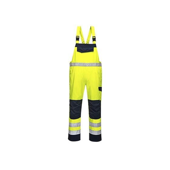 Overalls Modaflame high visibility MV27 Yellow/Marine
