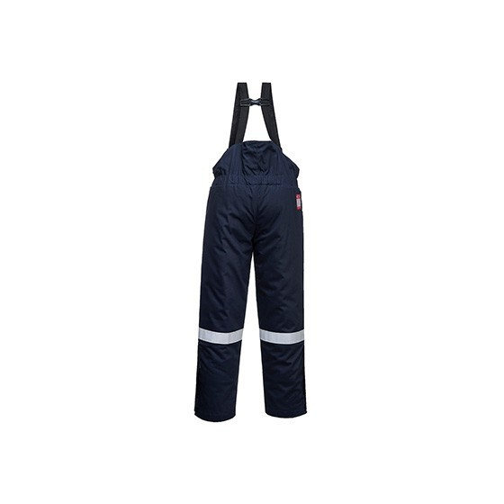 Fireproof and antistatic dungarees for winter FR58