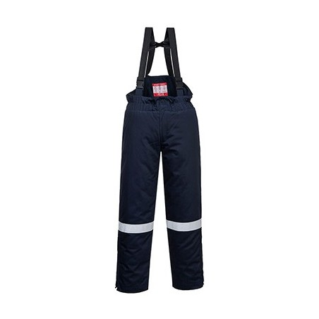 Fireproof and antistatic dungarees for winter FR58 Navy