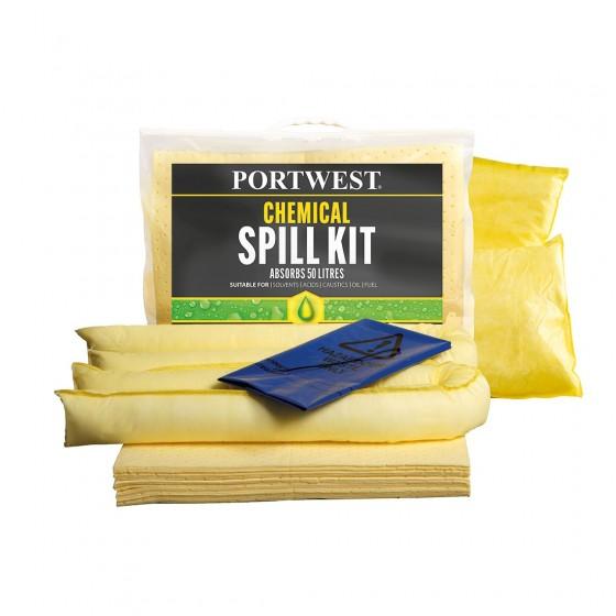 Chemical Spill Kit 50 Liters SM91 (Pack 3)