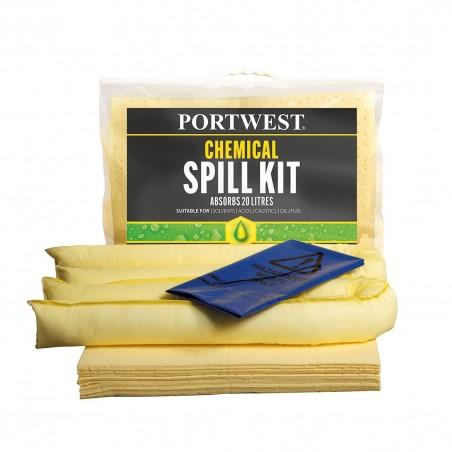 Chemical Spill Kit 20 Liters SM90 (Pack 6)
