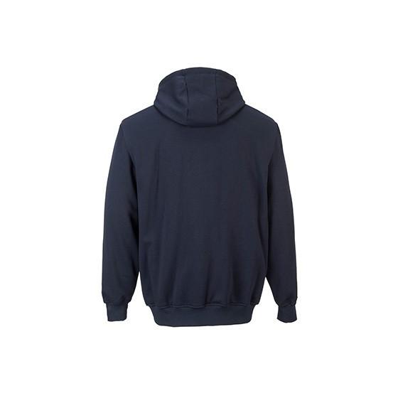 Sweatshirt Ignífuga com Fecho Zip e Capuz FR81