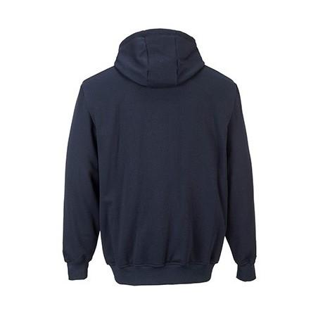 Flame retardant Sweatshirt with Zip Closure and Hood FR81