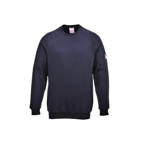 Long-sleeved Sweatshirt Flame retardant and anti-static FR12 Navy