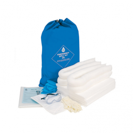 Anti-Spill Kit and Oil Containment 35 Lts Delux
