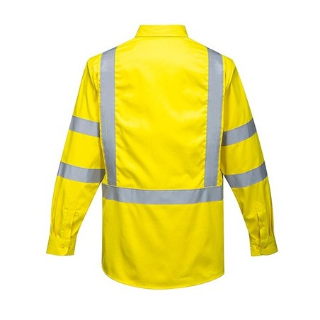 Bizflame 88/12 FR high visibility shirt FR95