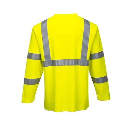 T-Shirt manga comprida alta visibilidade FR96