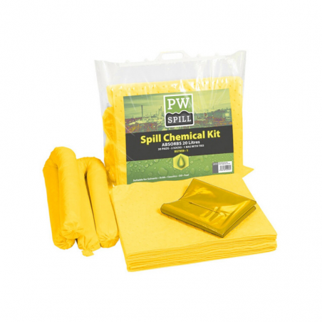 20 Liter Chemical Spill Kit
