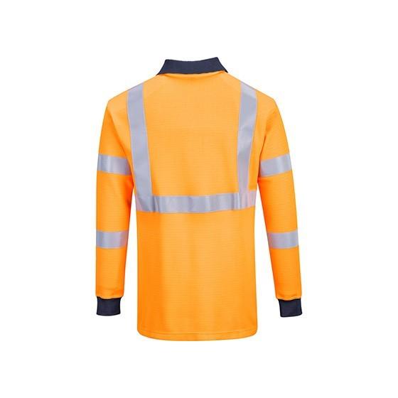 Long sleeve polo Fireproof RIS FR76