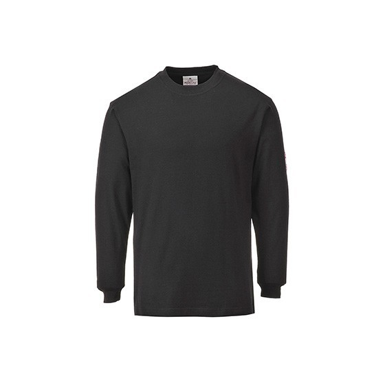Flame-Resistant and Antistatic Long Sleeve T-Shirt FR11