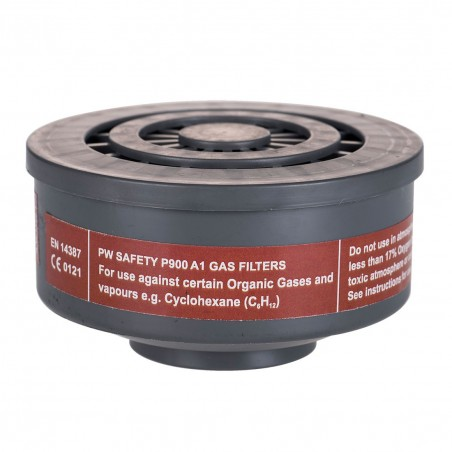 Gas Filter Special Connection Thread A1 P900 Gray (6-pack)