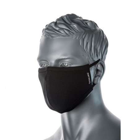2-layer anti-microbial fabric face mask (Pk25) CV22 (Pack 25 pcs.)