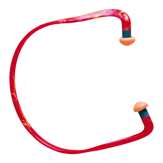 QB3 Banded Earplugs