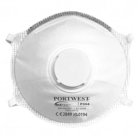 Light mask with Dolomite Valve FFP3 (Pack 10 pcs.)