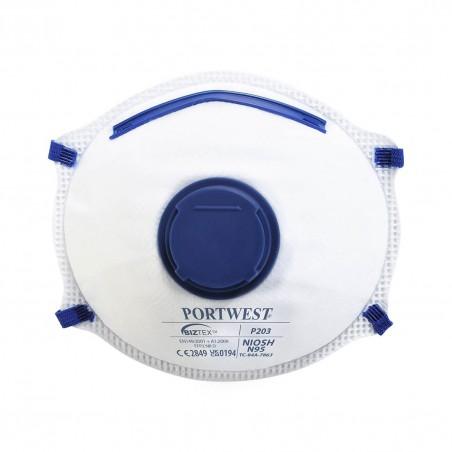 Dolomite Mask FFP2 with Valve P203 (Pack 10 pcs.)