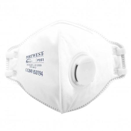 Folding mask with valve FFP3 P351 (Pack 20 pcs.)