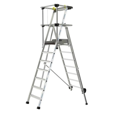 Individual platform with Sherpamatic wheels 3 steps