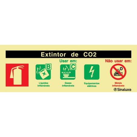 ABC CO2 fire extinguisher