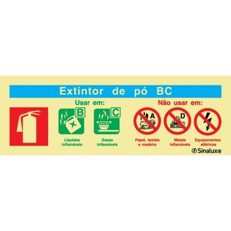 BC Powder Extinguisher