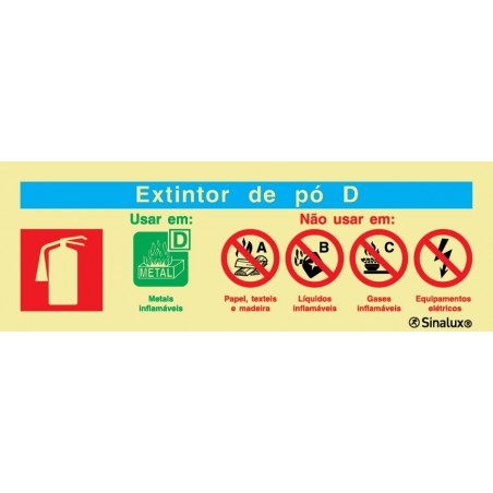 Powder D Extinguisher