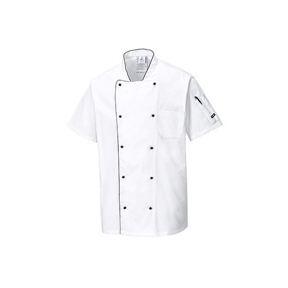 Aerated Chefs Jacket C676