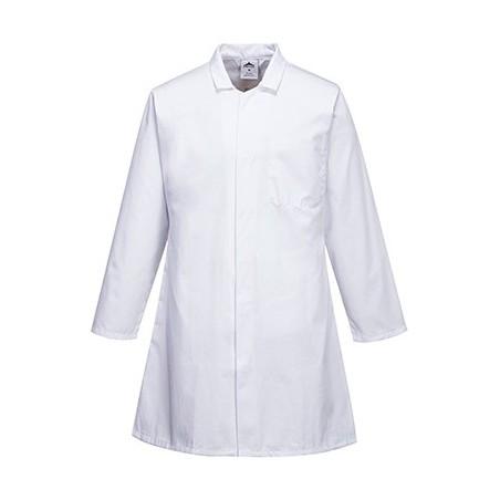 Three-pockets men's smock long sleeves 2206