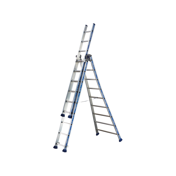 Combination of 3 platinum sections ladder