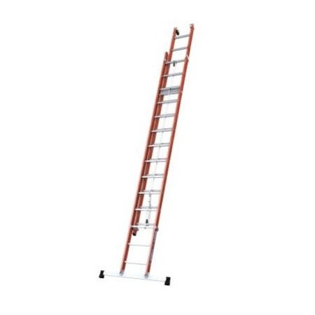 Isolated 2-Section Rope Ladder